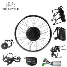 48 V 1000 W barato kit bicicleta elétrica roda hub kit de conversão de bicicleta do motor