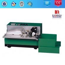 Máquina de impressão de código de rolo de tinta sólida quente para papel, cartão, etiqueta