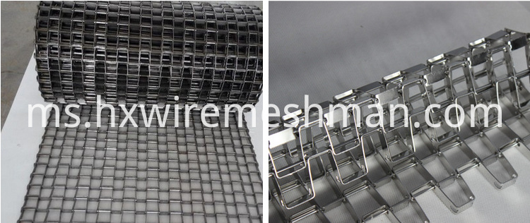 honeycomb wire mesh belt
