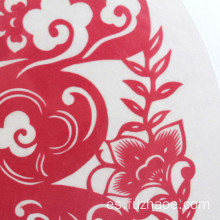 2019 fuzhaoe Paper-cut pintura decoración pegatinas de pared