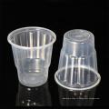 8 унц. PP материал одноразовый прозрачный пластиковый стаканчик с крышкой