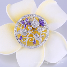 China cc crystal brooch for wedding use