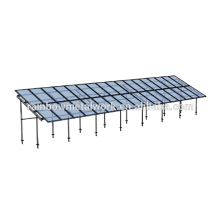 Ground solar PV mounting system