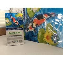 Koi Feed Packaging Bag With Slider Zipper