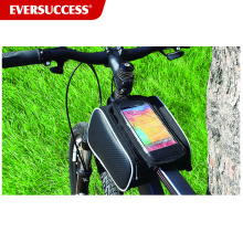 Bolsa de bicicleta impermeable Bolsa de marco de bicicleta con bolsillo para el teléfono (ESC-BB001)