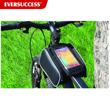 Waterproof Bicycle bag Bicycle Frame Bag with phone pocket (ESC-BB001)