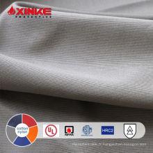 tissu de protection contre l'incendie d'arc de nylon de coton avec la CEI 61482 pour des vêtements de travail de soudeur