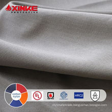cotton nylon arc flash fire protection fabric with IEC 61482 for welder workwear