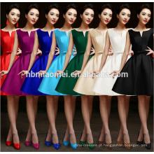 vestido de festa da princesa sexy multi-cor de cintura vestido de noite por atacado