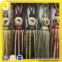 Tassel Tiebacks With Imitation Marble Ball Model Curtain
