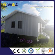 (WAS2504-100D) China Casas prefabricadas de lujo como edificios Casa modular