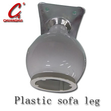 Hardware Furniture Tuble Plastic Sofa Leg