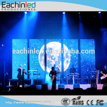 Etapa de pantalla LED Super thin LED pantalla video xxx interior P6 HD xxx video