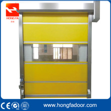 PVC curtain fast shutter door