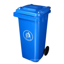 Outdoor Wheely Plastic Recycling Waste Bin
