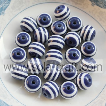 Scuro blu 8 MM 500Pcs Shamballa africano sposa all'ingrosso Swarovski Nigeria resina Alibaba Decorative tende polistirolo perline