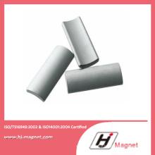 Опытные ISO/Ts16949 сертифицированный дуги постоянного неодимовый магнит