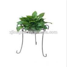 Design de moda metal blcak garden artificial flower display rack