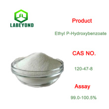 Conservantes de alimentos / cosméticos Ethyl P-Hydroxybenzoate CAS 120-47-8