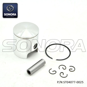 Minarelli AM6 49MM Piston Kit-Single ring (P / N: ST04077-0025) Alta qualità