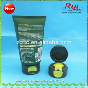 50mm cosmetic packaging tubes , plastic tubes with special flip top cap