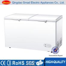 Gewerblicher Kühlschrank große Tiefkühltruhe Doppel-Gefriertruhe
