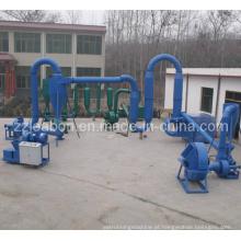 Produção de briquetes de carvão vegetal que faz a linha (ZBJ-50, ZBJ-80)