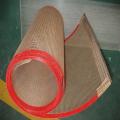 Ptfe coating fiberglass mesh acid resistance conveyor belt