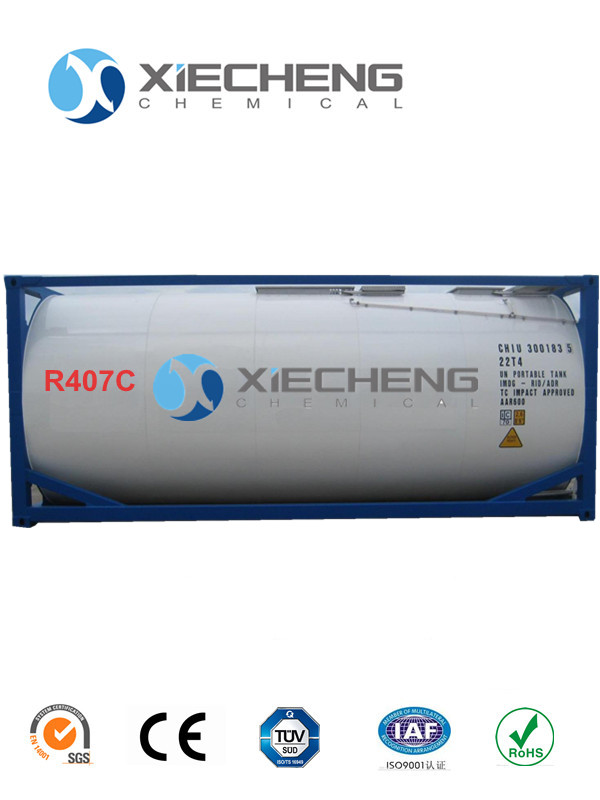 Mixed Refrigerant R407c for ISO TANK