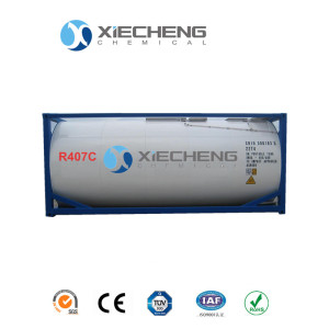Mixed Refrigerant R407 for ISO TANK