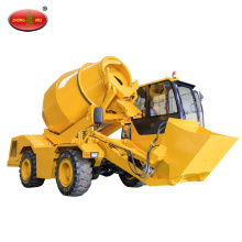 FM4.3 Self Loading Mobile Concrete Truck Mixer
