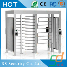 RFID Manual Office Building Full Height Turnstile