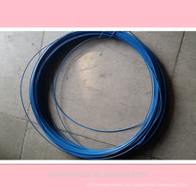 Fabricante de alambre galvanizado de PVC