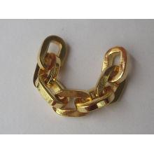 Nueva 2016 metal material pulsera de cadena de lujo para las niñas