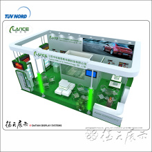 Free design exhibition booth for trade shows 3d exhibition display design and production from Shanghai
