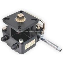 Kupplungsgetriebe mit Verriegelung