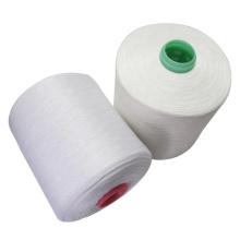raw white spun 80/2 polyester yarn thread
