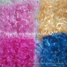100% Polyester Chrysanthemum Velvet Fabric with Multi-Colors