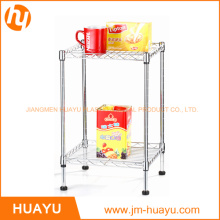 2 Tier Rack Wire Shelving Units Display