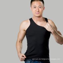 2016 Heiße verkaufende Baumwolllose Männer leeres Trägershirt
