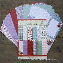 Двусторонняя печать Рождественская узором записки A4 Paper Pack