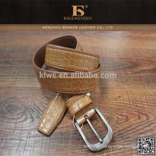 Поставка фабрики Вэньчжоу уникальный дизайн дешевой низкой цене мужчин случайные пу джинсы пояса