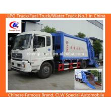 Dongfeng 10 T ordena o compactador de lixo Compacteur Camion