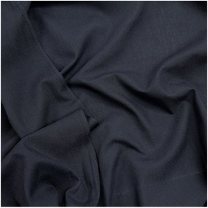 Navy poly/cotton pocketing fabric  TC 80/20 88gsm