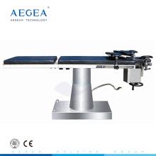 AG-OT028 Wirtschaftliche mechanische China Fabrik Versorgung chirurgische hydraulische Bewegungen OP Bett