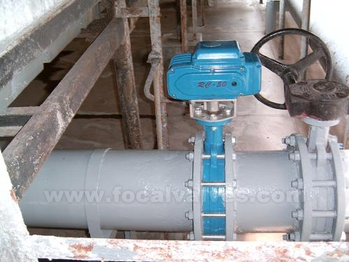 Butterfly Valve with Electric Actuator