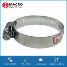carbon or stainless steel American type hose clamps