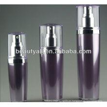 Embalagem cosmética garrafa cosmética acrílica