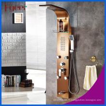 Panneau de douche en acier inoxydable Fyeer Luxury 5 fonctions