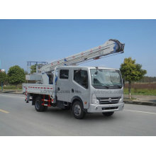 13.5m Dongfeng Aerial Platform Work Truck with Crane